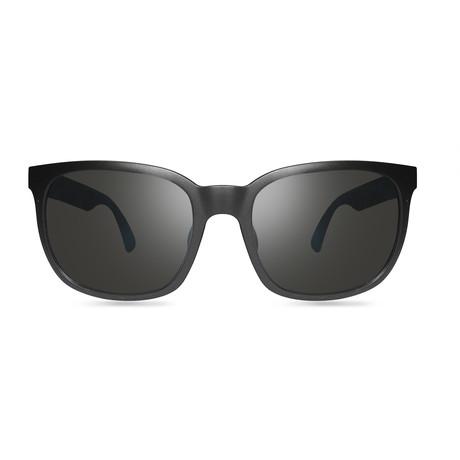 Slater // Matte Black + Graphite Lens