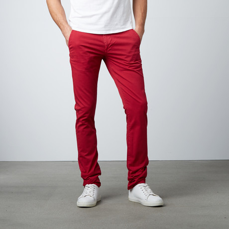 Highfield Chino // Bordeaux