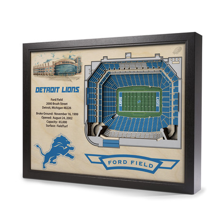 Detroit Lions // Ford Field