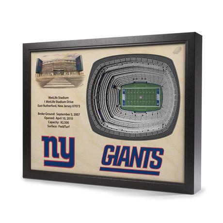 New York Giants // MetLife Stadium (5 Layers)