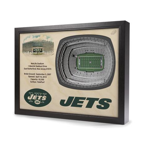 New York Jets // MetLife Stadium (5 Layers)