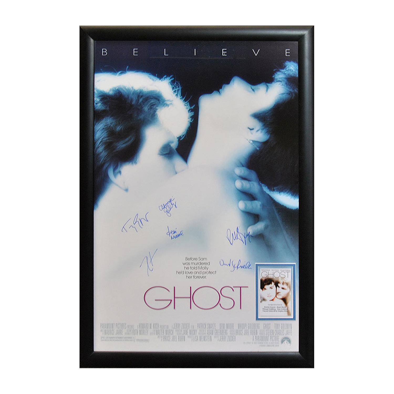 Framed + Signed Movie Poster // Ghost - Signed Horror ...