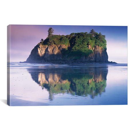 Abbey Island Looms Over Ruby Beach, Olympic National Park