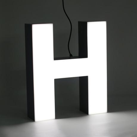 """LETTER """"H"""""""
