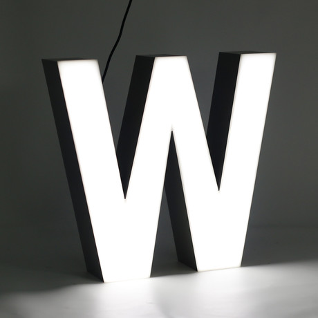 "LETTER ""W"""