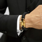 KCUF Slim Luxury Paracord Bracelet // 24K Gold (Medium)