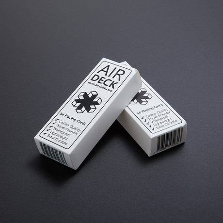 The Air Deck // Set of 2 // White