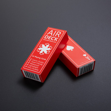 The Air Deck // Set of 2 // Red