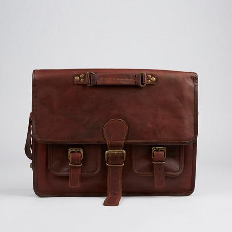 Rustic Look Messenger Bag