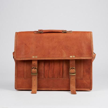 Multi-Pocket Messenger Bag