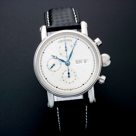 Chronoswiss Chronograph Day Date Automatic // 7543 // Pre-Owned
