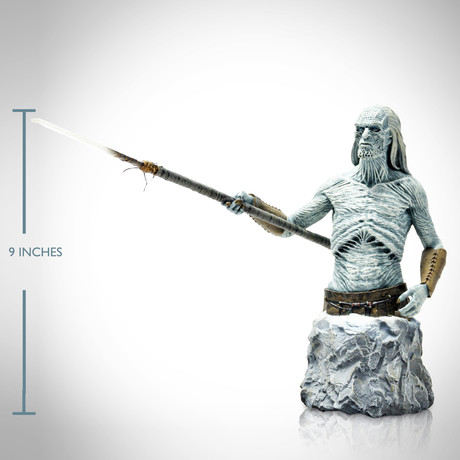 Game of Thrones // White Walker Bust