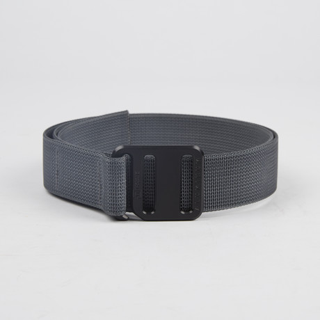 Ti Hook Black Anodized Aluminum Buckle + Wolf Grey Strap (Small)