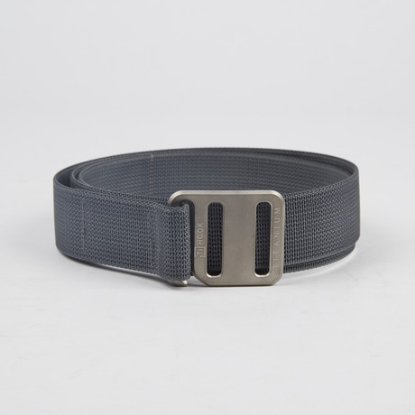 Ti Hook Titanium Buckle + Strap // Wolf Grey (Small)