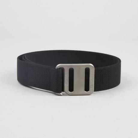 Ti Hook Titanium Buckle + Strap // Black (Small)