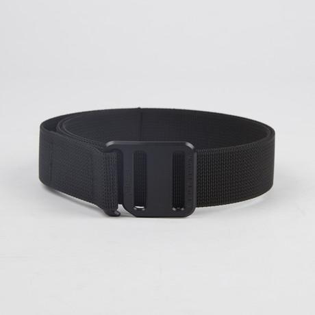 Ti Hook Black Anodized Aluminum Buckle + Black Strap (Small)