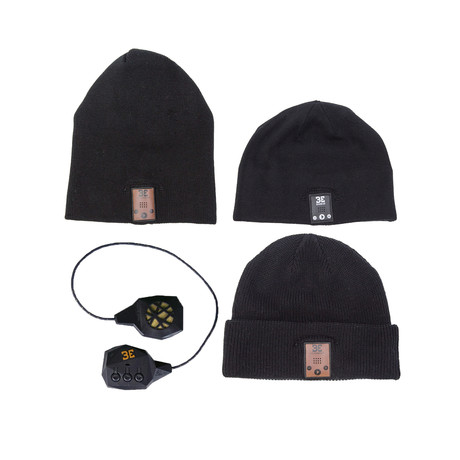 Beanie Swap Pack // Grey + Black