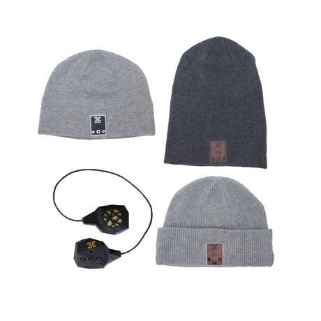 Beanie Swap Pack // Grey