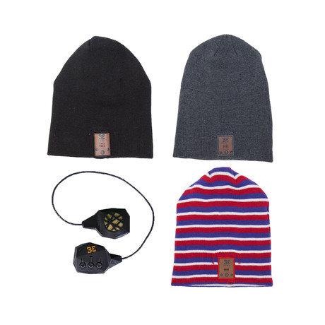 Beanie Swap Pack // Grey Multi