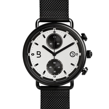 Edmonton Black Chronograph Quartz // EDM-BLACK