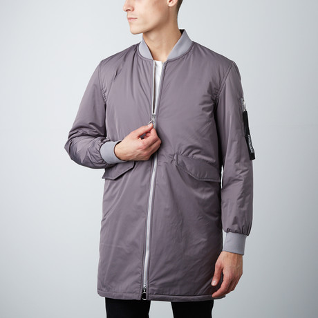 Cheltenham // Long Bomber // Grey