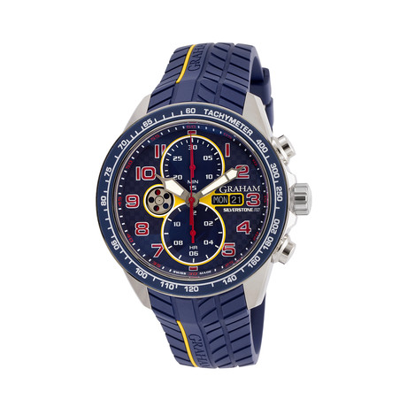 6773310d7 Graham Silverstone RS Racing Chronograph Automatic // 2STEA.U01A.K106F //  Unworn