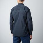Woven Long-Sleeve Shirt // Sea Urchin (L)