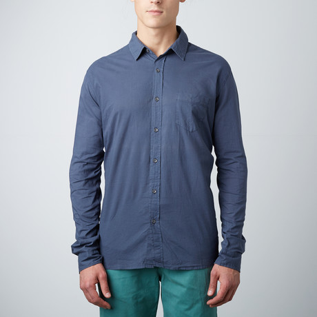 Woven Long-Sleeve Shirt // Shade (XL)