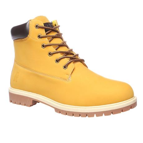 Timber Boots // Mustard