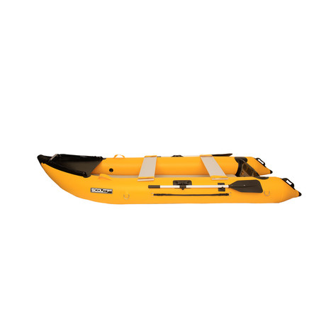 Scout365 Portable Inflatable Boat // Yellow