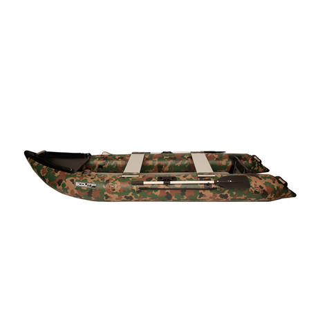 Scout365 Portable Inflatable Boat // Camouflage