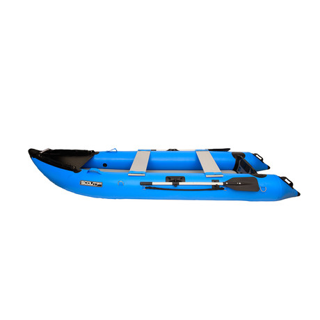 Scout365 Portable Inflatable Boat // Blue
