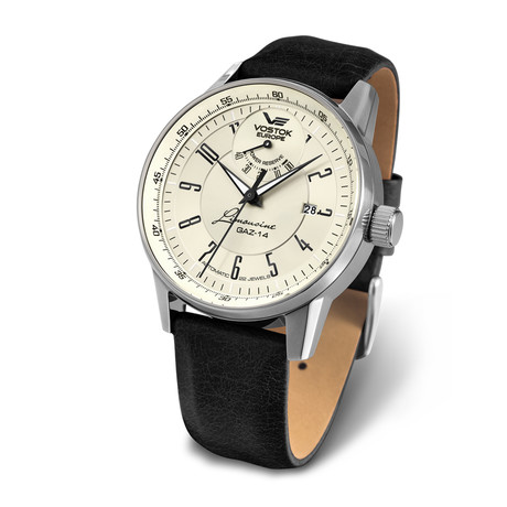 Vostok Europe GAZ Limo Power Reserve Automatic // YN85-560A518