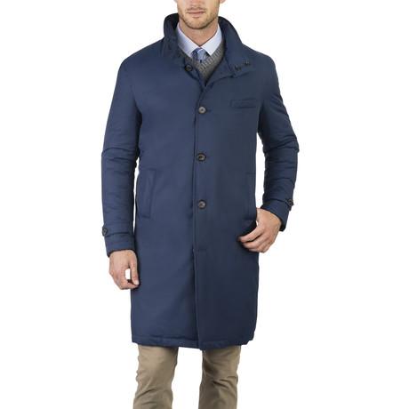 Trench Coat // Steel Blue