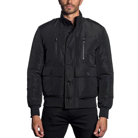 Military Jacket // Black (S)