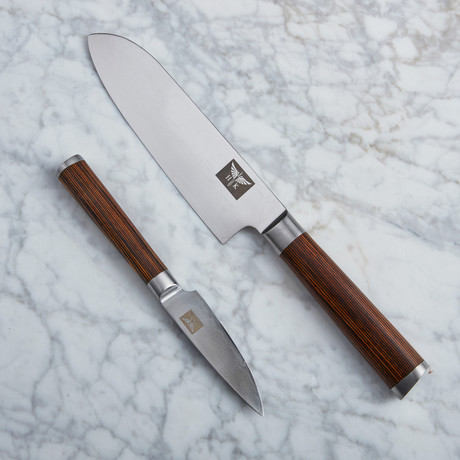 "Santuko 8"" Chef + Paring Knife"