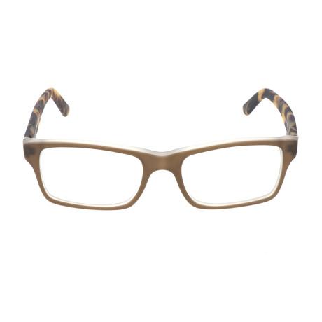 Garrett Optical Frame // Beige + Tortoise