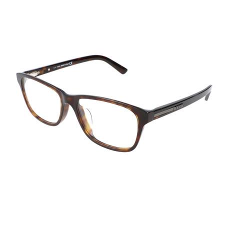 Men's TO5147-F Optical Frames // Dark Havana