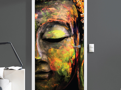 Photo of Walplus Self Adhesive Door Murals Colours of Peace by Touch Of Modern
