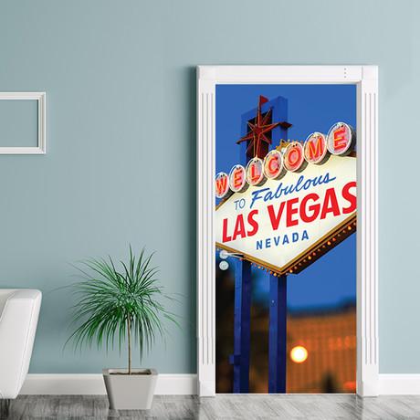 Las Vegas // Door Mural