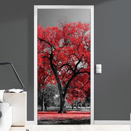 Beginning of Autumn // Door Mural