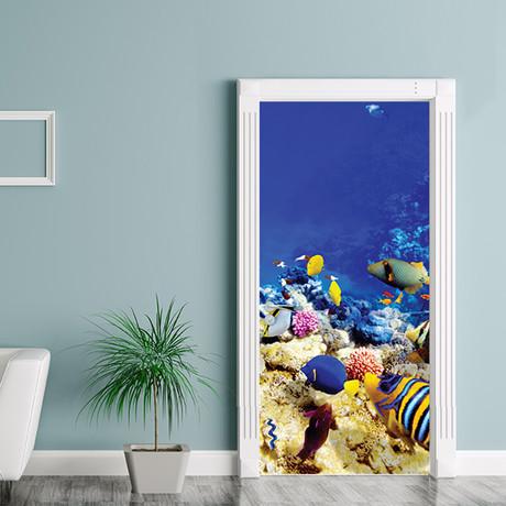 Under the Sea // Door Mural
