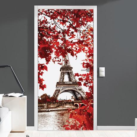 Eiffel Tower // Door Mural