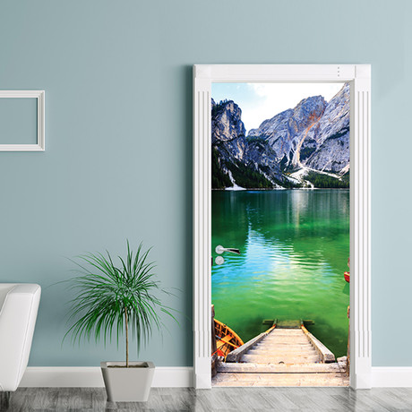 Mountain Landscape // Door Mural