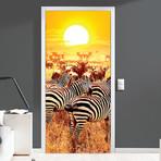 Savana Wildlife // Door Mural