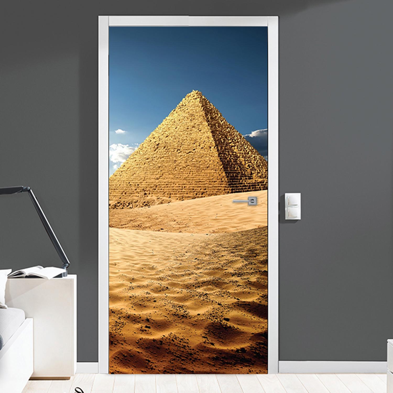 Pyramid // Door Mural & Pyramid // Door Mural - Walplus - Touch of Modern