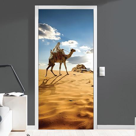Roaming the Desert // Door Mural