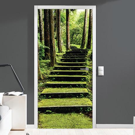 Way to Nature // Door Mural