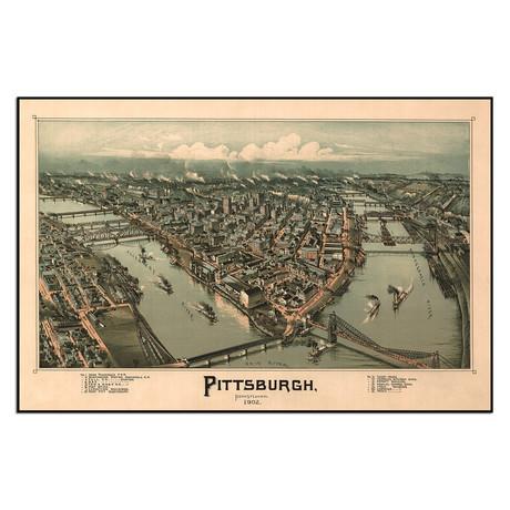 "Pittsburgh (13.5""W x 9""H)"