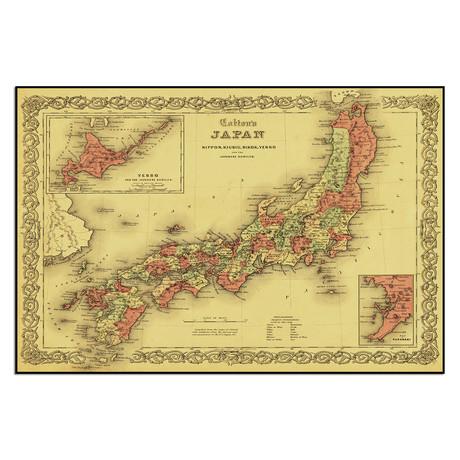 """Japan (13.5""""W x 9""""H)"""